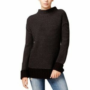 Sanctuary Mason Mock Neck Knit Striped Sweater